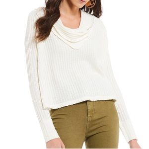 Free People Wildcat Thermal Pullover Top
